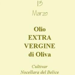Olio Extravergine di Oliva 13 Marzo